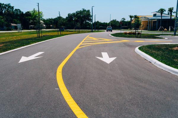 Paving, Curbing, Striping & Signage